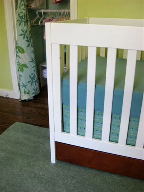 Diy Crib Bedding Set Diy Make Your Own Crib Skirt