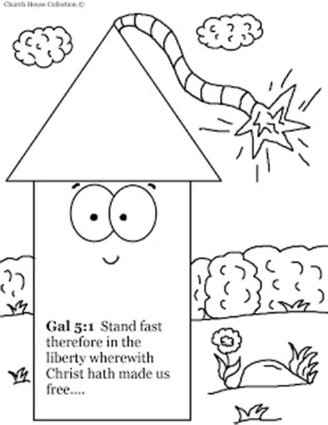 christian coloring pages for fourth of july church house collection blog fourth of july fireworks