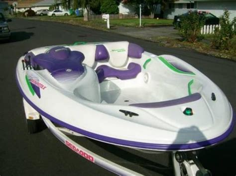 sea doo jet boat for sale ebay uk 1995 seadoo speedster sportster service repair manual