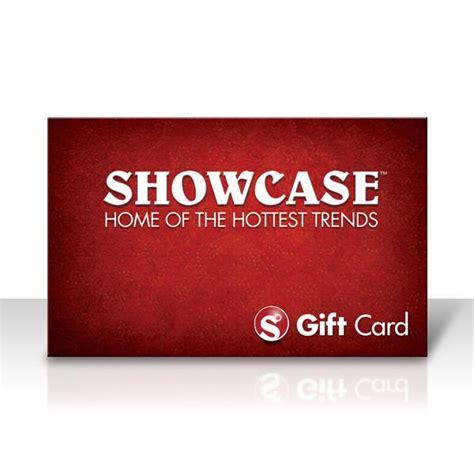 Showcase Gift Card - showcase gift card free shipping no minimum limited time showcase