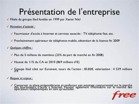 Présentation Lettre Entreprise Analyse Strat 233 Gique Free