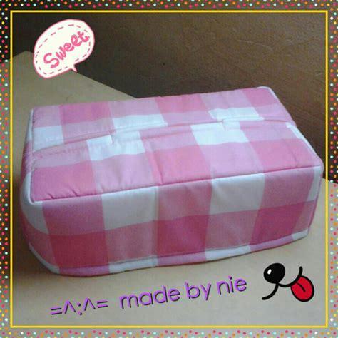 Tempat Tissue Dari Kain 1 jual tempat kotak tissue tisu kain katun nie olshop