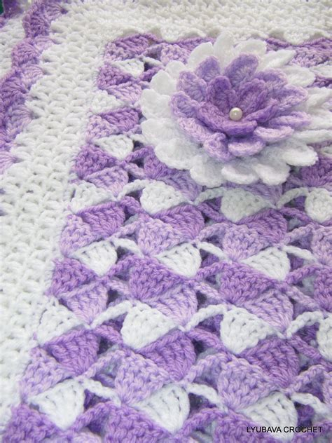 Baby Blanket Crochet Patterns Videos
