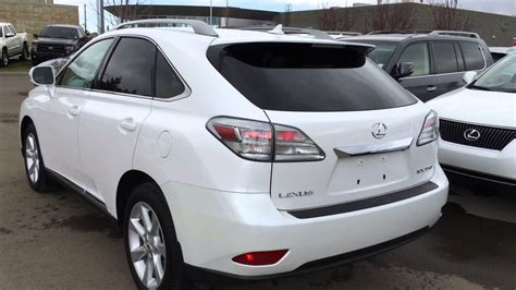 lexus white 2010 pre owned white 2010 lexus rx 350 awd touring package