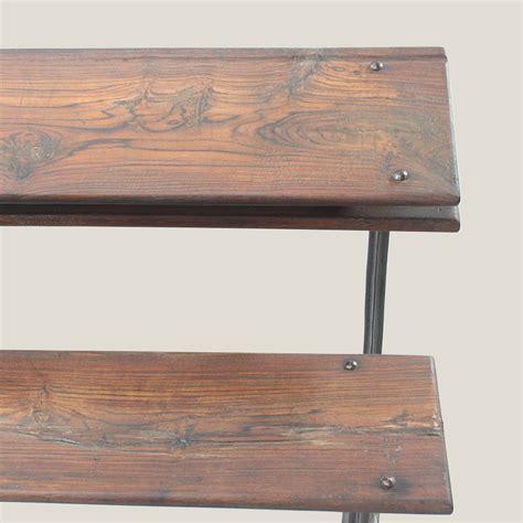 wooden school bench vintage school desk and bench vintage matters