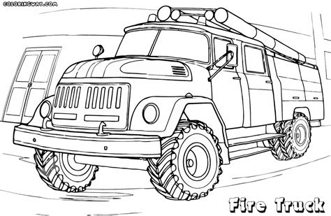 fire trucks coloring page fire truck coloring pages coloring pages to download and