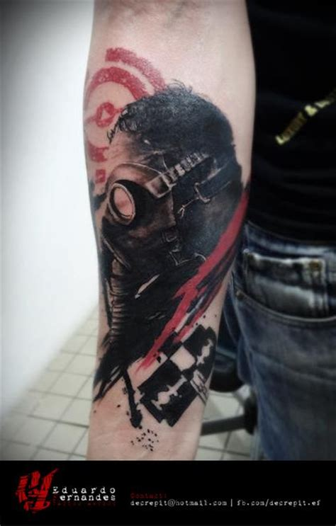 tattoo nightmares gas mask gas mask tattoo mask tattoo and search on pinterest