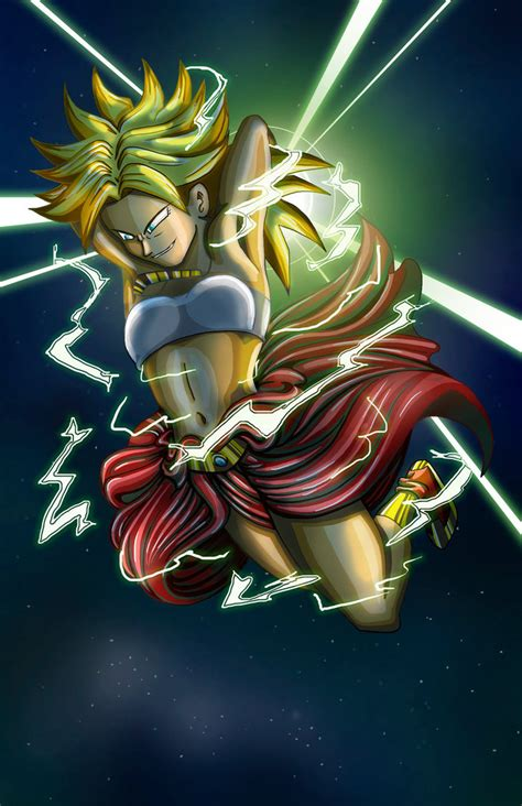 broly by salsa picante on deviantart