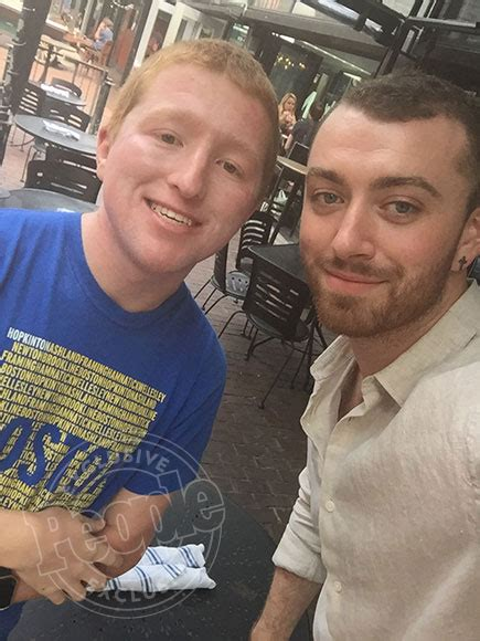 sam smith fan sam smith vacations in boston with his parents com