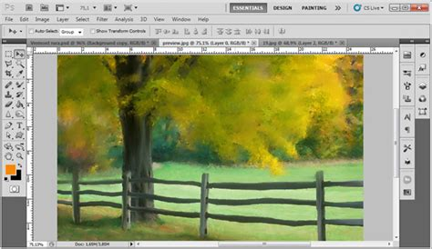 Lukisan Fanel 1 membuat foto menjadi sebuah lukisan realistis yang aku suka