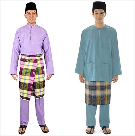Imej Baju Melayu Teluk Belanga hari raya antara jubah dan baju melayu shameel iskandar
