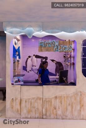 experience snow in ahmedabad at iceberg: snow world