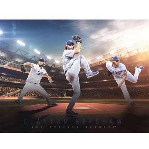 los angeles dodgers clayton kershaw fathead giant removable wall mural