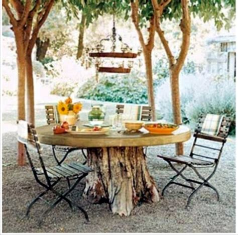 tables made from tree stumps 7 diy tree stump creative ideas