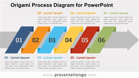 Origami Process - origami process diagram for powerpoint presentationgo