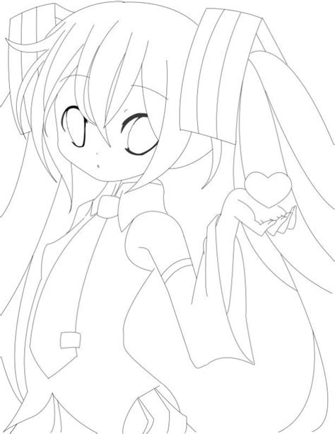 free coloring pages of hatsune miku para colorir