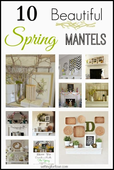 decorate your home for 10 beautiful mantel decorating ideas setting for four