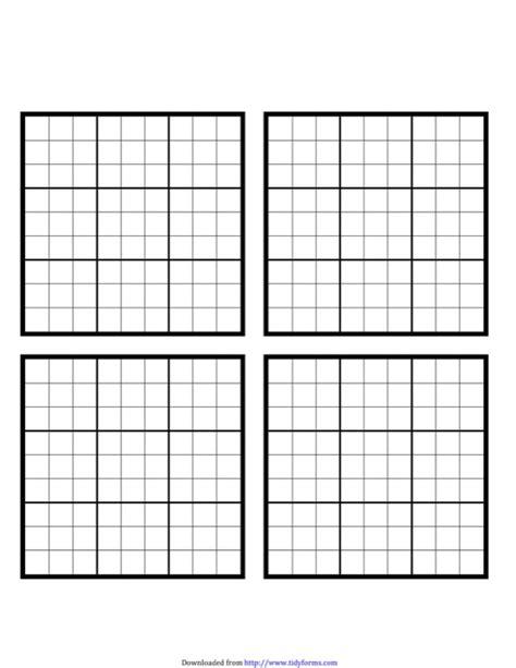 printable sudoku blank download blank sudoku grid for free tidyform
