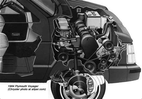 small engine repair training 1994 chrysler lebaron seat position control original minivans 1984 91 dodge caravan plymouth voyager chrysler town country