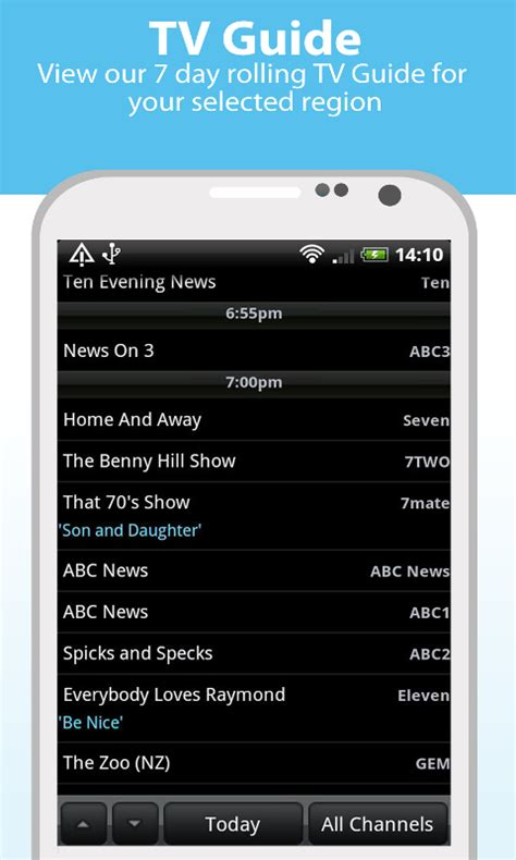 tv guide for android icetv tv guide australia android apps on play