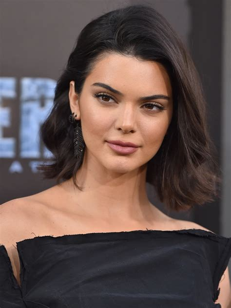 Kendall Jenner Short Hair Waves   Short Hair Fashions