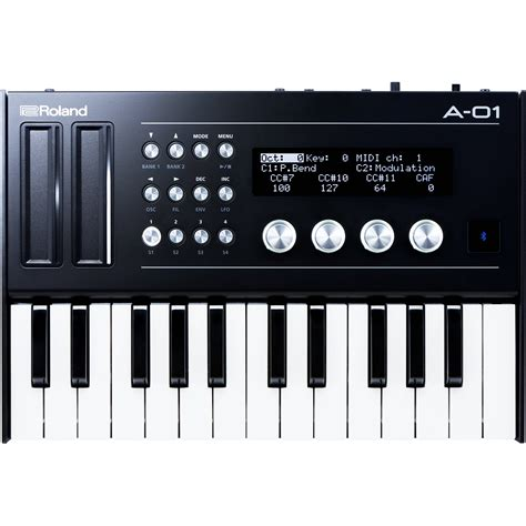 Keyboard Roland Mini roland a 01k compact synthesizer keyboard controller a 01