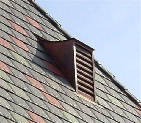 Gable Roof Materials Roof Gable Vents Cr220 Copper Manor Architectural