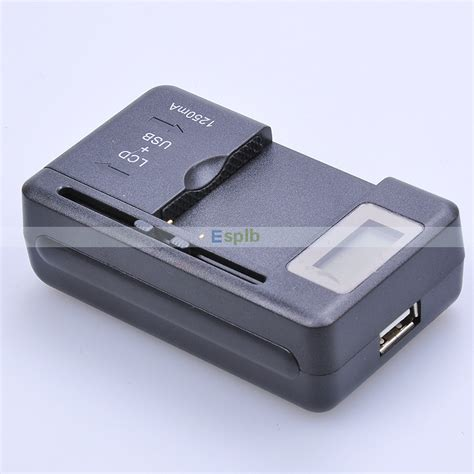 Universal Travel Charger Lcd Usb Gma universal lcd screen usb ac phone battery li ion home wall dock travel charger for galaxy s3 s4