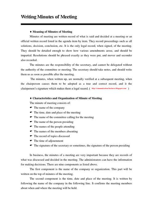 sle of meeting minutes template how to write minutes template 28 images 9 how to write