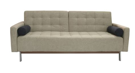 Beige Or Grey Contemporary Tufted Fabric Sofa Bed Santa Innovative Sofa Bed