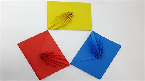 Origami Leaf Envelope - origami leaf gallery craft decoration ideas