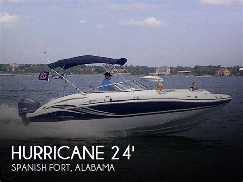 boat dealers spanish fort al canceled hurricane 2400 sundeck boat in spanish fort al