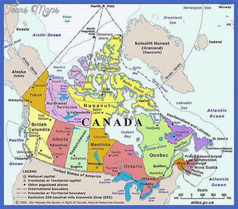 tourist map of canada maps update 20481400 canada tourist attractions map