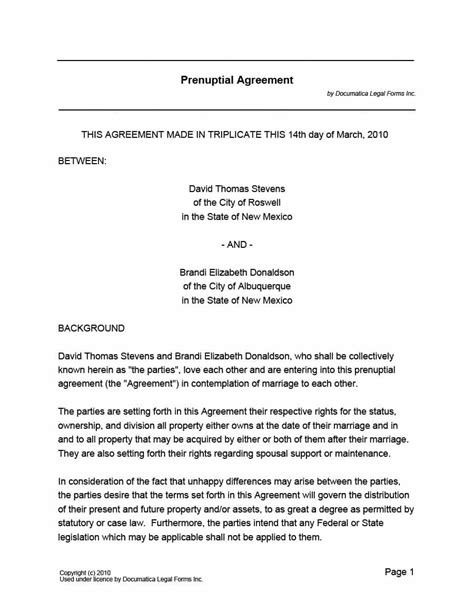 marriage contract template marriage contract template 12 simple but important things
