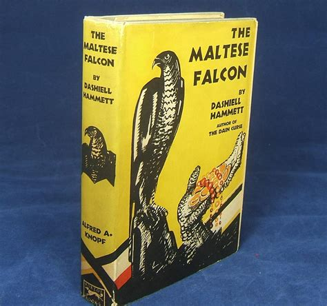 libro the maltese falcon collectors the maltese falcon fine unrestored copy of the first edition in original publisher s dust