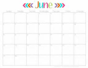 2016 june calendar printable free cute free calendar