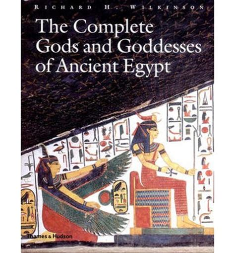 full text of the book of the ancient and accepted the complete gods and goddesses of ancient egypt richard