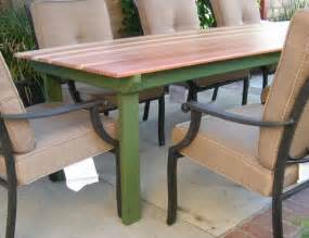 Wood Patio Table Plans Refnishing A Table Top