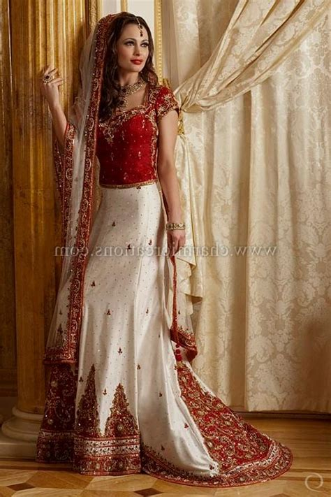Marriage Wear Dresses by And White Indian Wedding Dresses Naf Dresses