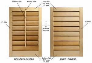 how to make interior shutters for windows diy interior window shutter plans woodideas