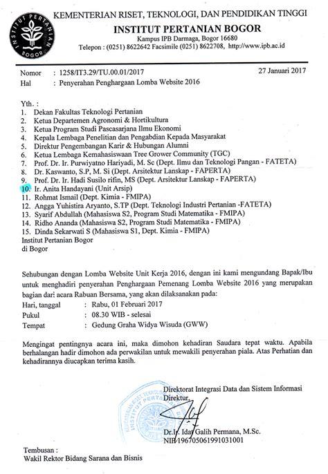 Contoh Notulen Rapat Marching Band by Format Surat Undangan Resmi Asli Aetherair Co