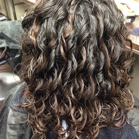 perm in long thick hair 17 best images about perm ideas on pinterest curly perm