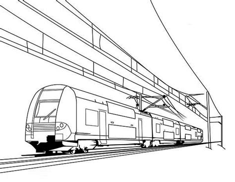 electric train coloring page free coloring pages of electric train