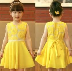 popular yellow girls dress buy cheap yellow girls dress