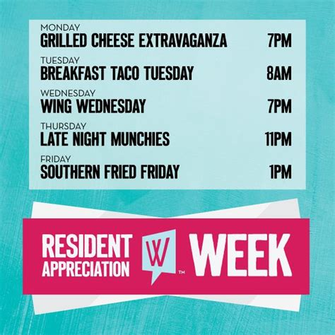 Who S Excited For Resident Appreciation Week We Know We Are Updates Events Pinterest Resident Appreciation Week Flyer Template