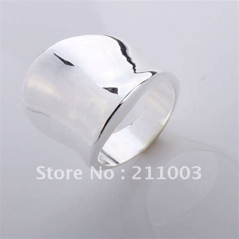 wholesale 925 sterling silver thumb ring fashion 925