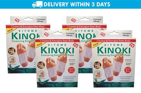 Kiyome Kinoki Cleansing Detox Foot Pads Cena by 62 Kiyome Kinoki Cleansing Detox Foot Pads Set Of 4 Promo