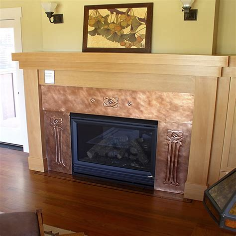 copper metal fireplaces by market custom gifts