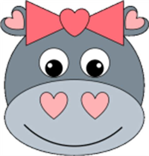 Hippo Paper Plate Craft - cow paper plate craft