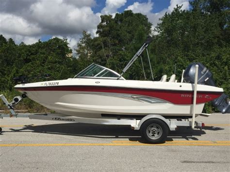 rinker boats employment pre owned 2013 rinker 185 fish and ski for sale